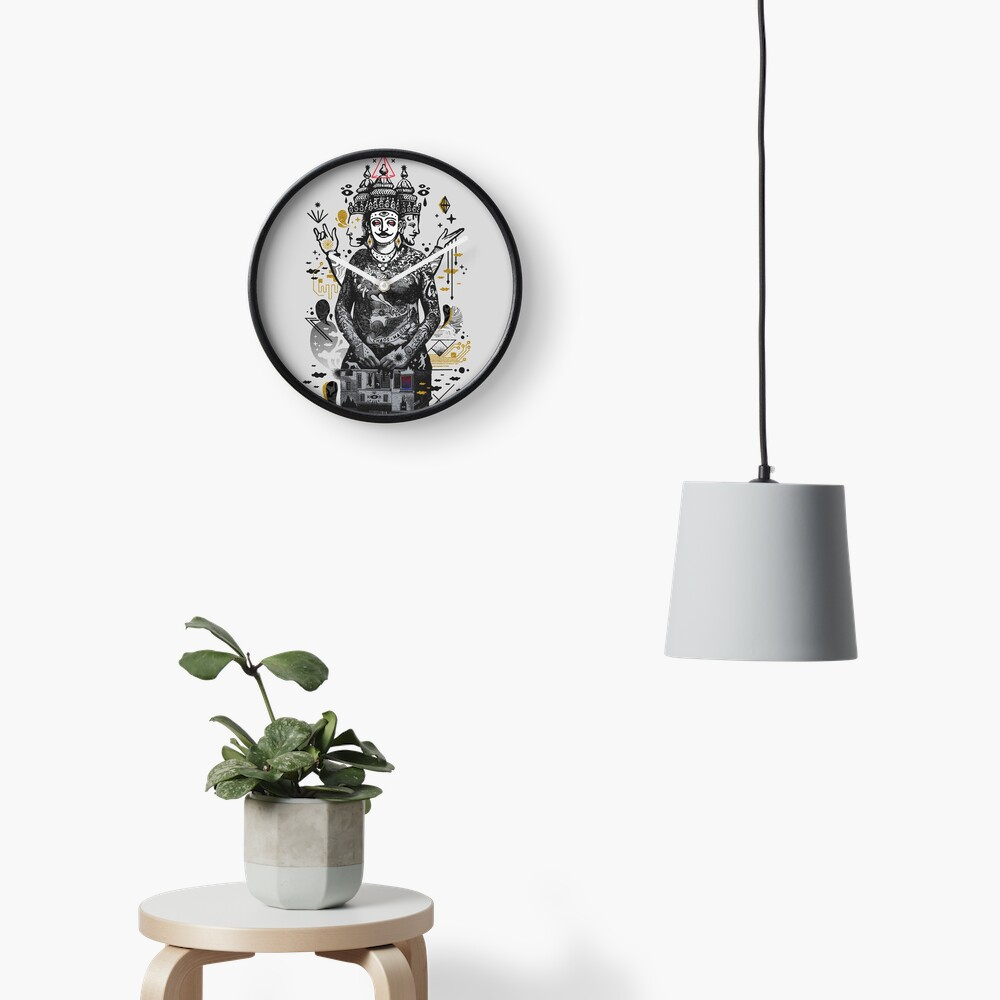 Dweller on the Threshold Clock