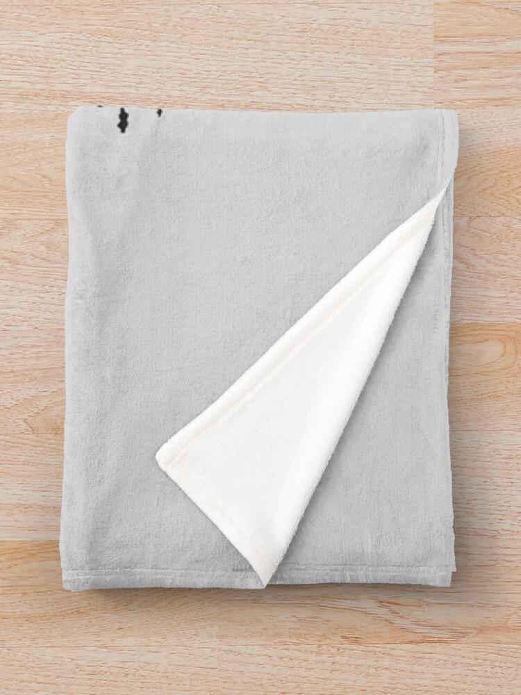 Alternate view of Dweller on the Threshold Throw Blanket