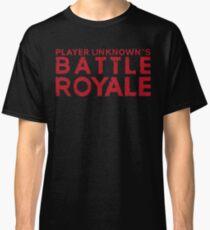 H1Z1 - Battle Royale Red Classic T-Shirt