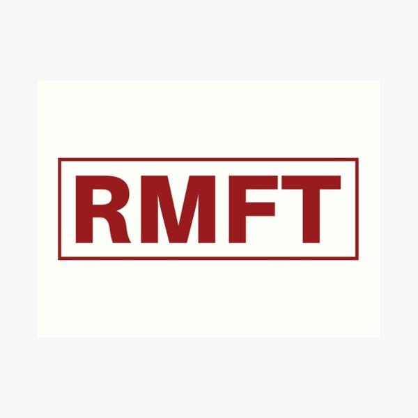 RMFT Classic Logo Art Print