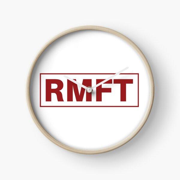 RMFT Classic Logo Clock