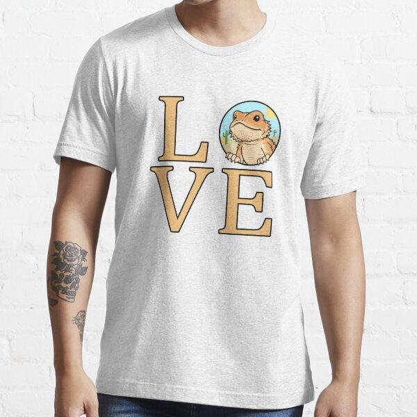 Bearded Dragon Love Essential T-Shirt