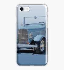 1932 Ford 'Baby Blue' Roadster iPhone Case/Skin
