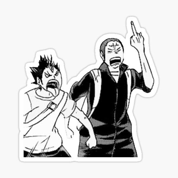 Nishinoya and Tanaka Sticker