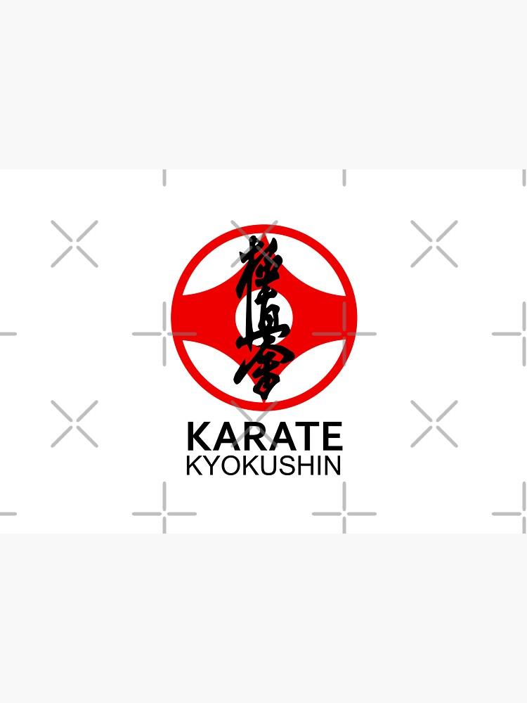 Kyokushin Karate Kanji and Symbol  by DCornel