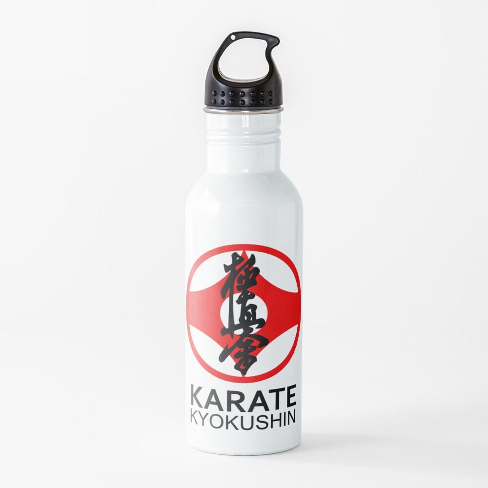 Kyokushin Karate Kanji and Symbol  Water Bottle