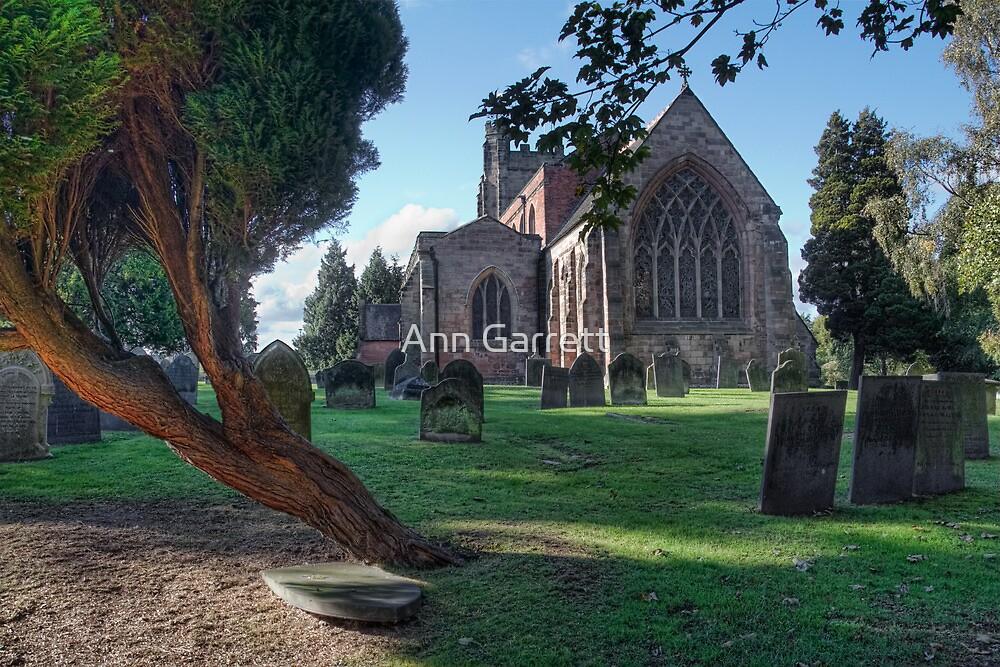 St Chad's Church, Lichfield by Ann Garrett