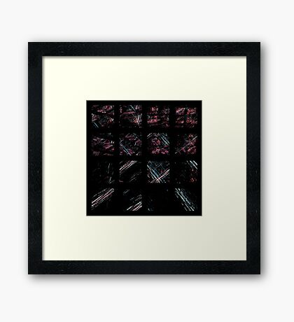 Squarings Framed Print