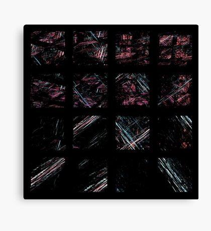Squarings Canvas Print