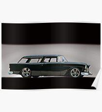 1955 Chevrolet Nomad Wagon Poster