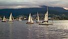 Tasmania - Home Run up the Derwent by Odille Esmonde-Morgan