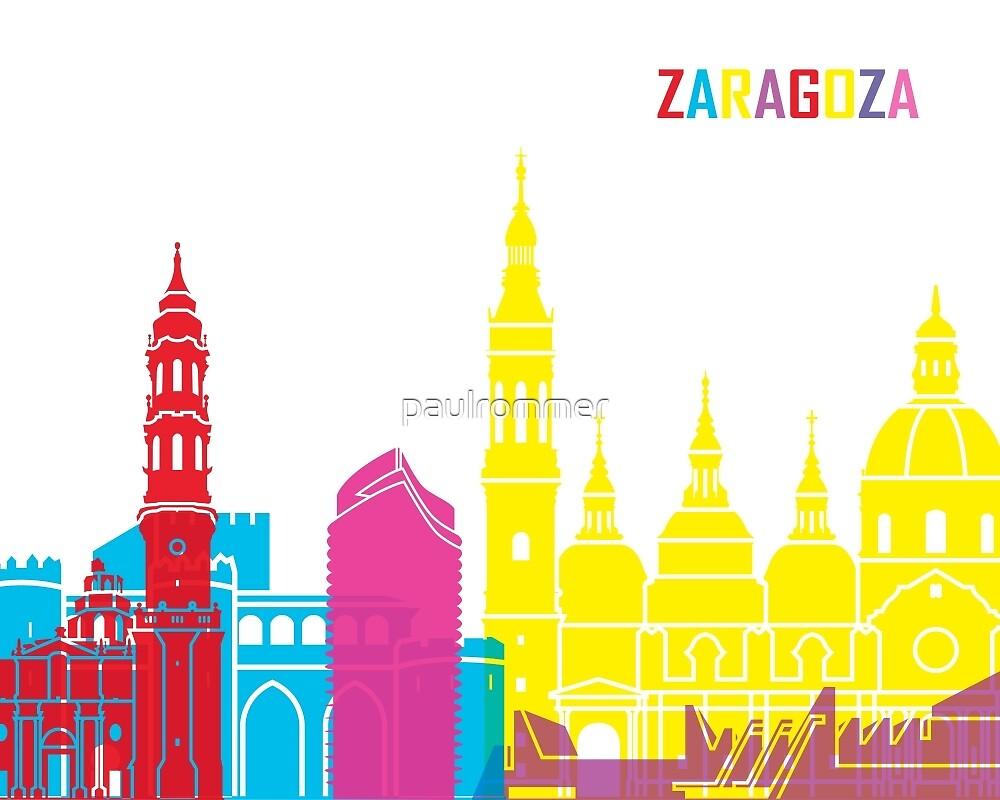 Zaragoza skyline pop by paulrommer