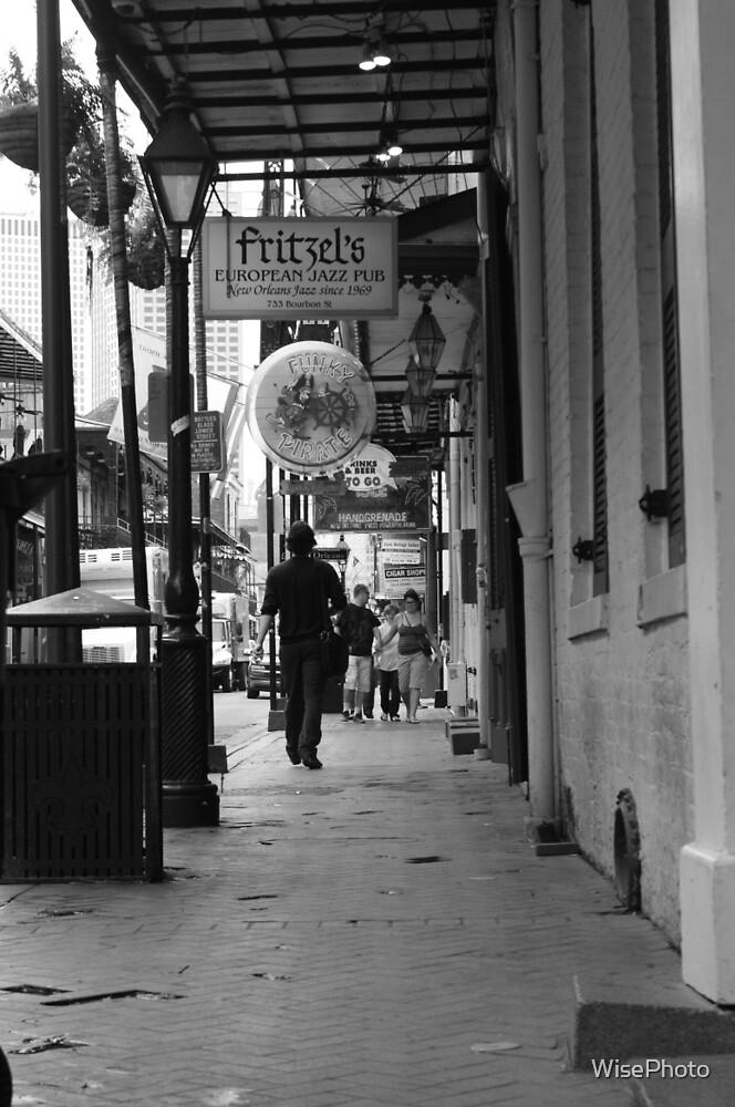 Along the Sidewalk by WisePhoto