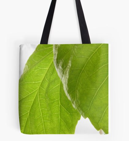 Hibiscus Leaves Tote Bag