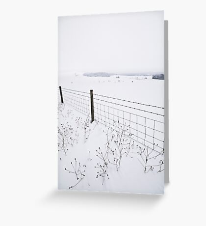 Bleak Midwinter Greeting Card