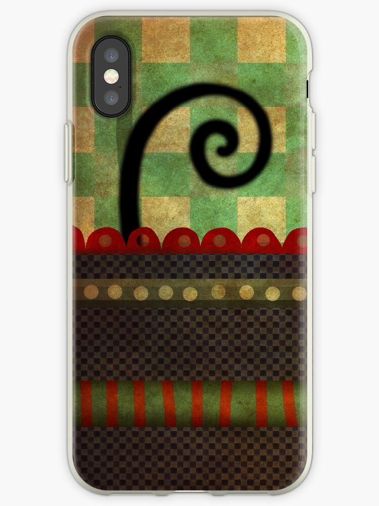 Weird nature swirl iphone case by rupydetequila