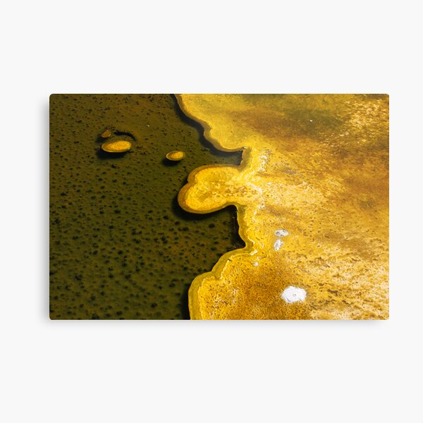 Yellowstone Geothermal feature 1 Metal Print