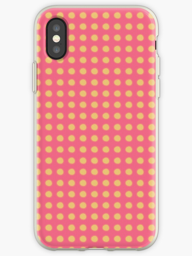 Pink and Yellow Polka Dots by rupydetequila