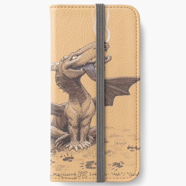 Dragon, man's most faithful friend iPhone Wallet