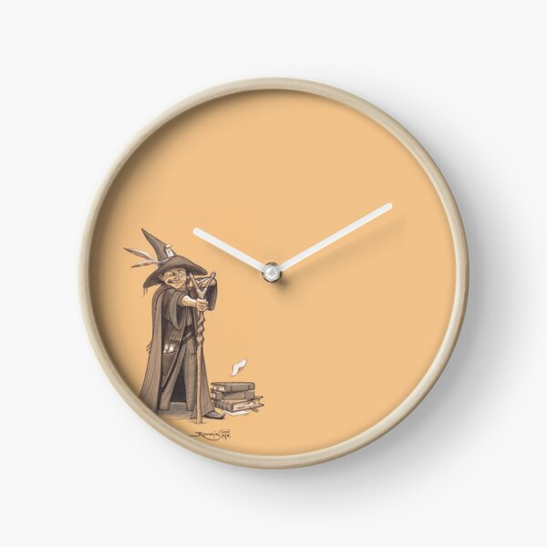Young rebel wizard Clock