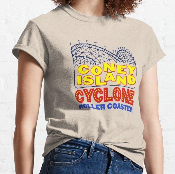 Coney Island Cyclone Rollercoaster Classic T-Shirt