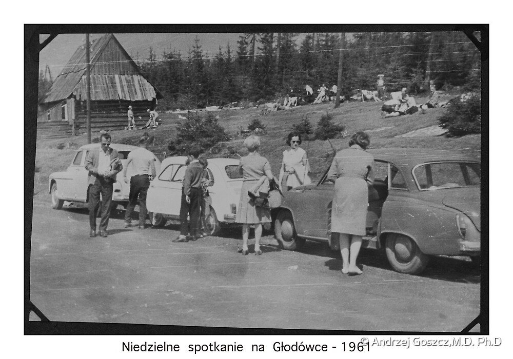 Weekend at Tatra Mountains . Głodówka. Poland . 1961, Hmm... 50 years ago. My autobiography. Views (171) thanks!   featured in1950+ Planes Trains n Automobiles. by © Andrzej Goszcz,M.D. Ph.D