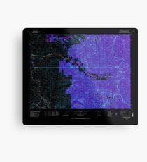 USGS Topo Map Washington State WA Skykomish River 243753 1975 100000 Inverted Metal Print