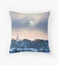 Wintersun Throw Pillow