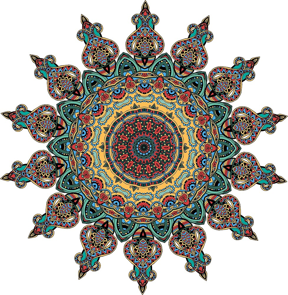 Trippy Mandala by alexrow