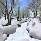 Winter in Calas Galadhon by Beth Gross