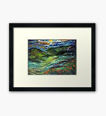MOONSHINE VALLEY  Framed Print