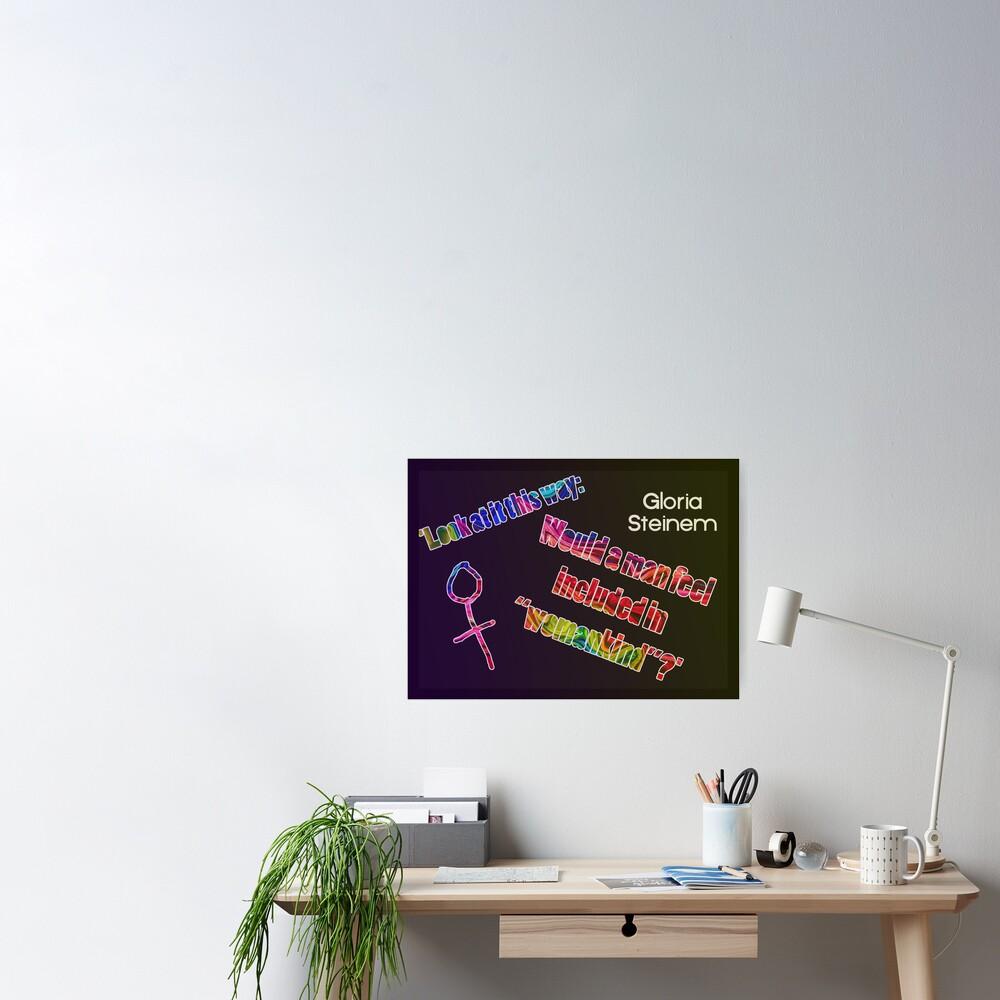 Look at it this way... Poster