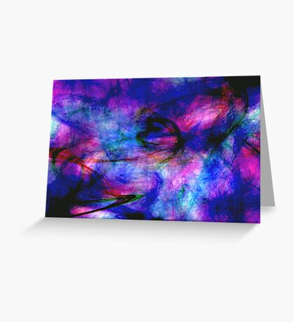 Structure & Chaos Greeting Card