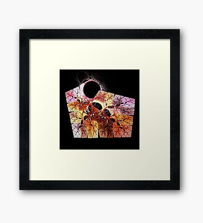 The Memory Still Haunts Me Framed Print