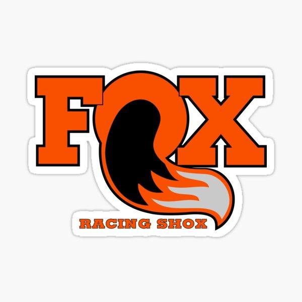 Fox Racing Shox - Orange Sticker