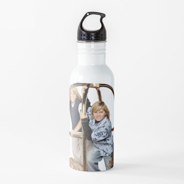 The bad boys Zack and Cody  Water Bottle