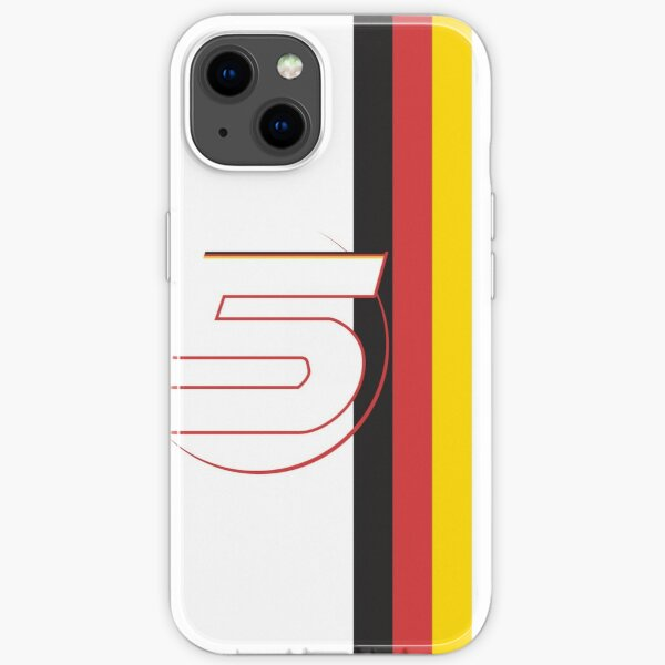 Sebastian Vettel 2020 Helm iPhone Flexible Hülle