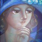 Girl in blue by marostega