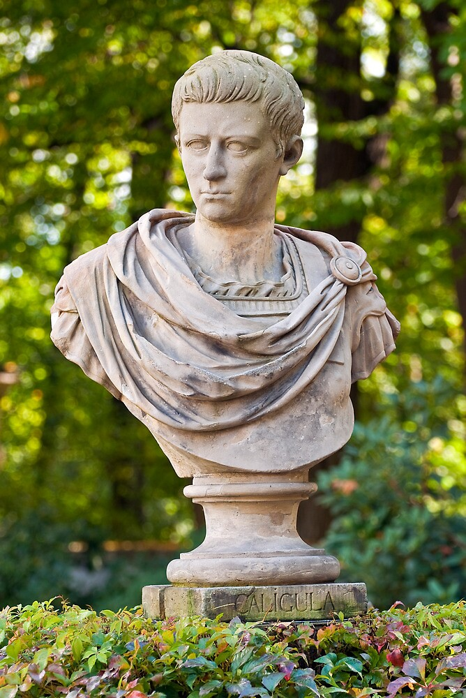 Roman emperor Caligula. by FER737NG