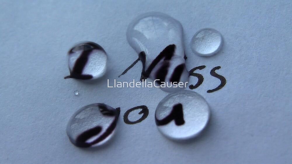 I miss you by LlandellaCauser