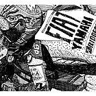 MotoGP Ink by burramys