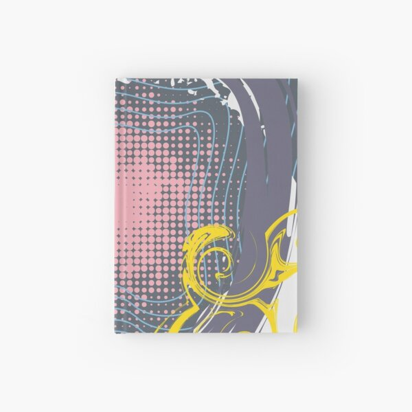 Abstract Pattern 20  Hardcover Journal