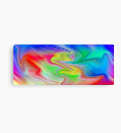 colOred Canvas Print