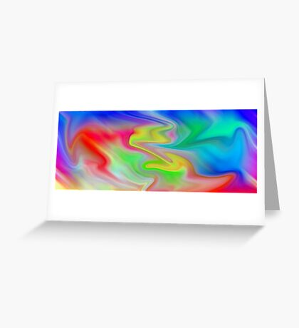 colOred Greeting Card
