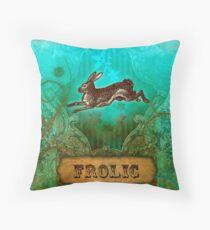 Frolic Throw Pillow