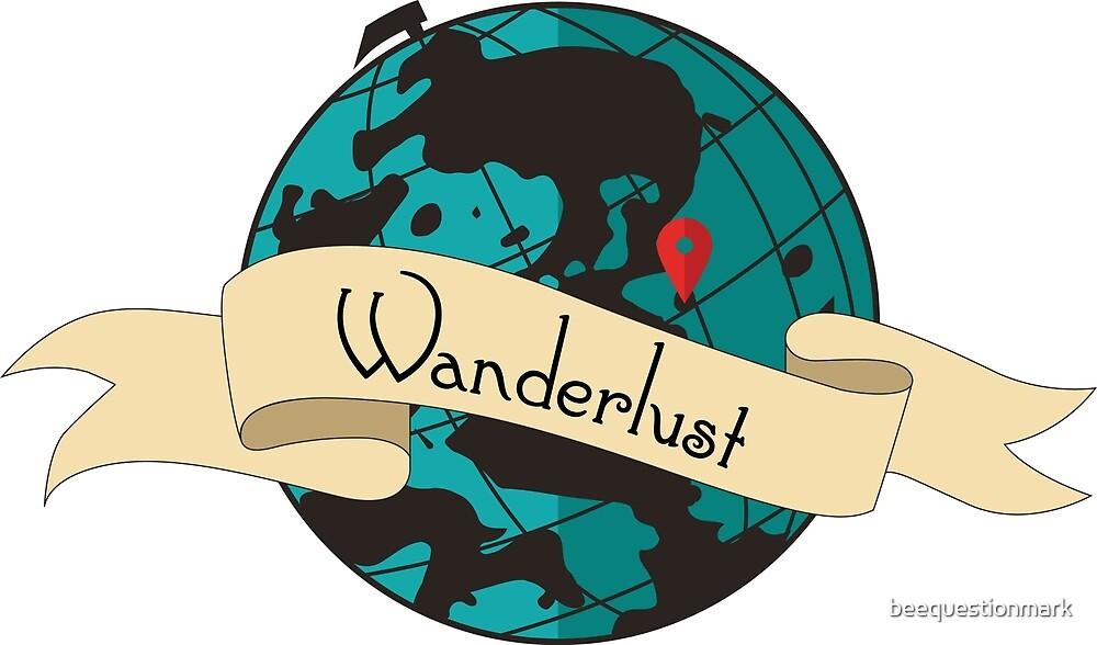 Wanderlust Globe by beequestionmark