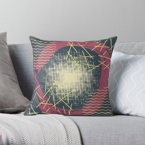 Abstract Pattern 26  Throw Pillow