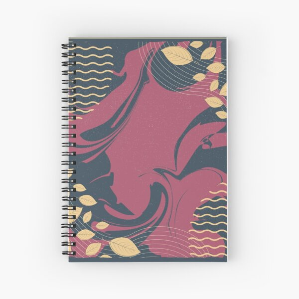 Abstract Pattern 28  Spiral Notebook
