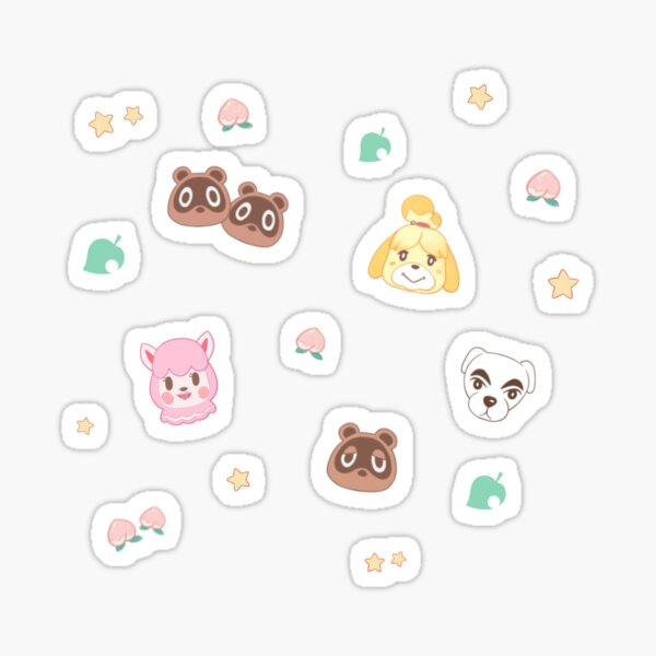 Animal Crossing Characters Sticker