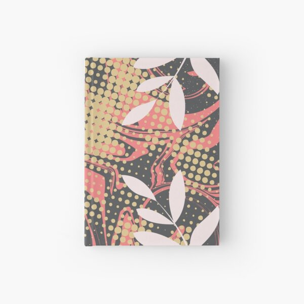 Abstract Pattern 32  Hardcover Journal